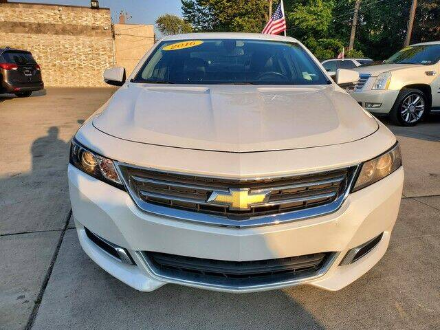 2016 Chevrolet Impala for sale at Great Ways Auto Finance in Redford MI