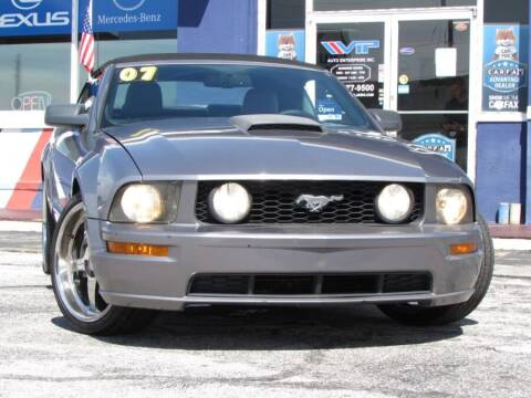 2007 Ford Mustang for sale at VIP AUTO ENTERPRISE INC. in Orlando FL