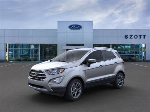 2020 Ford EcoSport for sale at Szott Ford in Holly MI
