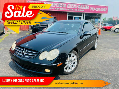 2007 Mercedes-Benz CLK for sale at LUXURY IMPORTS AUTO SALES INC in North Branch MN