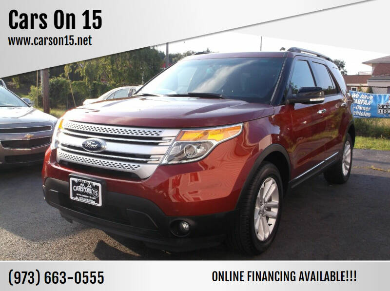 2014 Ford Explorer for sale at Cars On 15 in Lake Hopatcong NJ