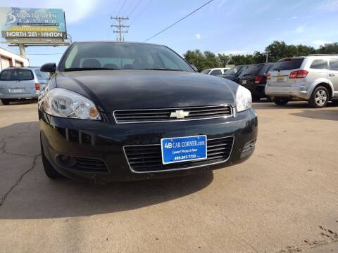 2011 Chevrolet Impala for sale at 4 B CAR CORNER in Anadarko OK