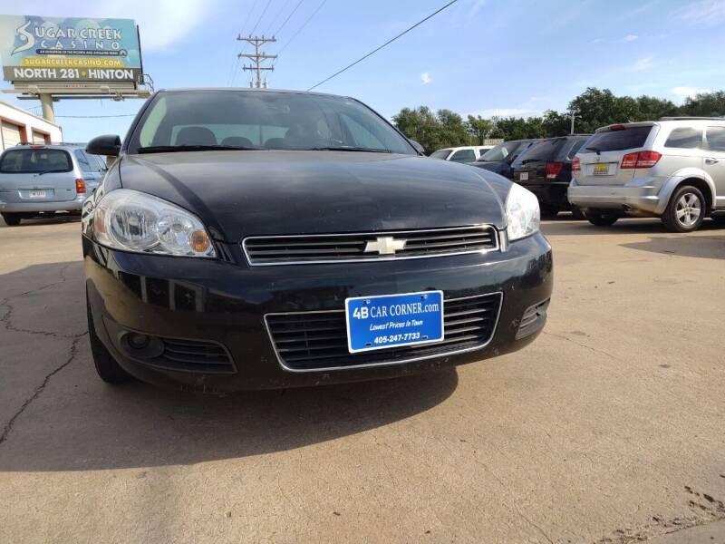 2011 Chevrolet Impala for sale at 4 B CAR CORNER in Anadarko OK