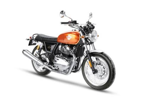 2021 Royal Enfield Int650 Orange Crush for sale at Head Motor Company - Head Indian Motorcycle in Columbia MO