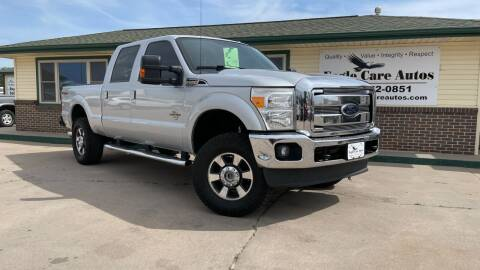 2012 Ford F-250 Super Duty for sale at Eagle Care Autos in Mcpherson KS