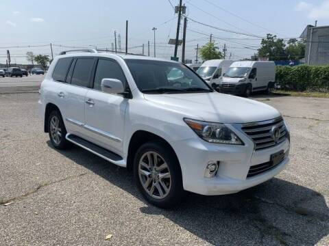 2014 Lexus LX 570 for sale at EMG AUTO SALES in Avenel NJ