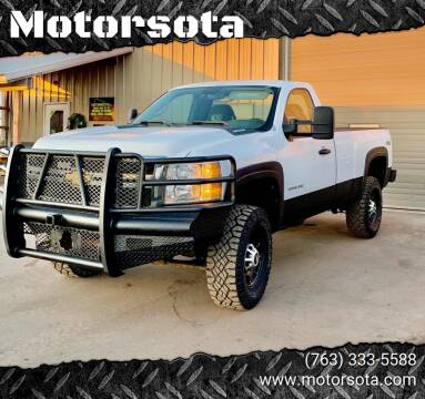 2011 Chevrolet Silverado 2500HD for sale at Motorsota in Becker MN