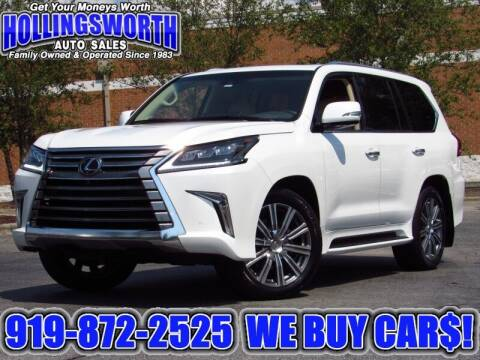 2017 Lexus LX 570 for sale at Hollingsworth Auto Sales in Raleigh NC