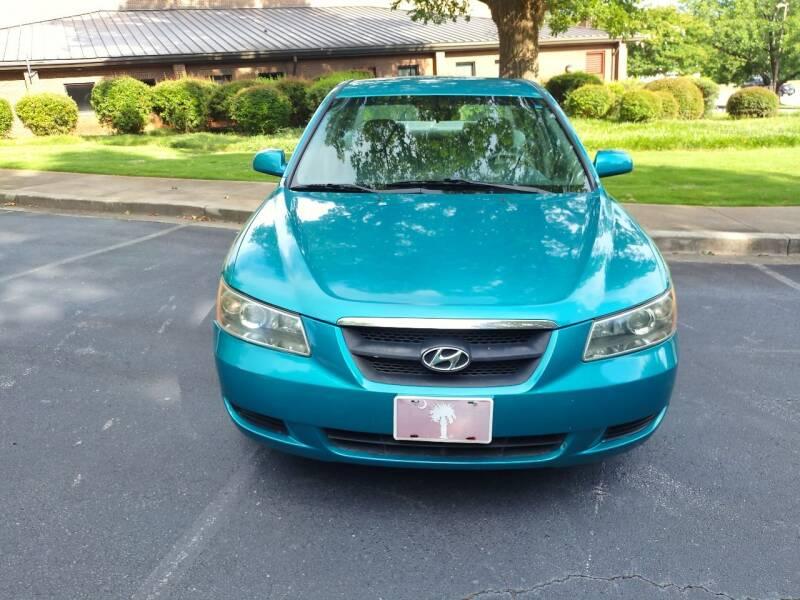 2007 Hyundai Sonata for sale at Wheels To Go Auto Sales in Greenville SC