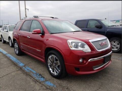 2012 GMC Acadia for sale at HW Used Car Sales LTD in Chicago IL