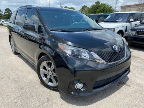 2014 Toyota Sienna for sale at KAYALAR MOTORS in Houston TX