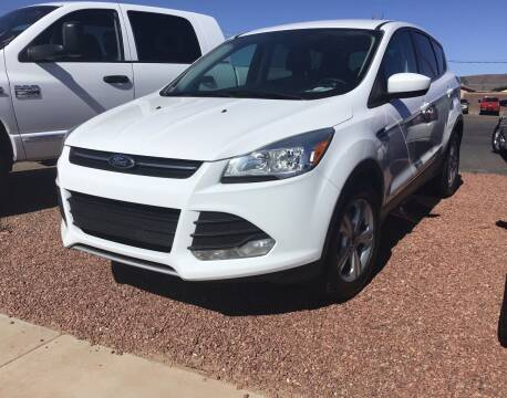 2014 Ford Escape for sale at SPEND-LESS AUTO in Kingman AZ