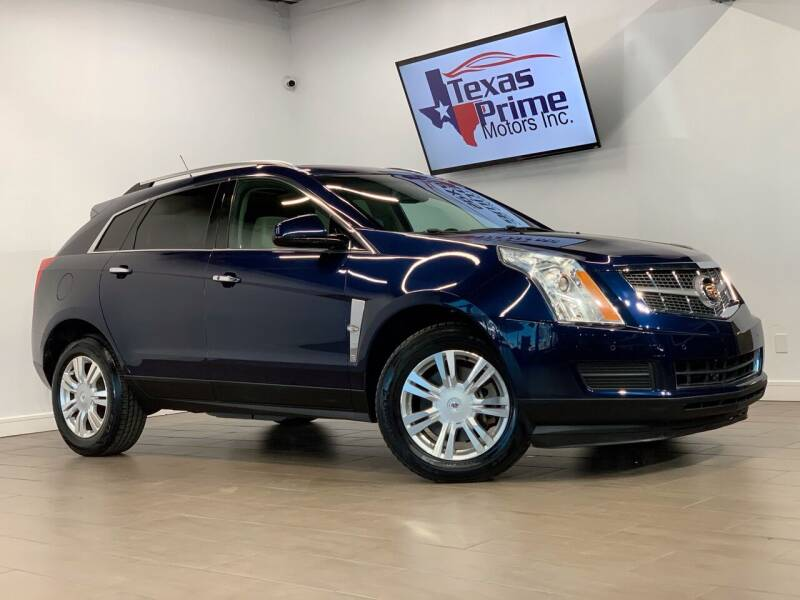 2011 Cadillac SRX for sale at Texas Prime Motors in Houston TX