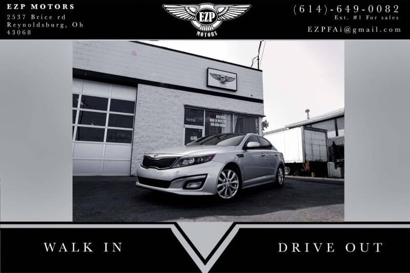 2015 Kia Optima for sale at EZP Motors in Reynoldsburg OH