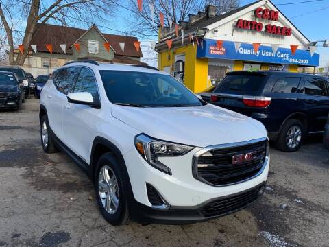 2018 GMC Terrain for sale at C & M Auto Sales in Detroit MI