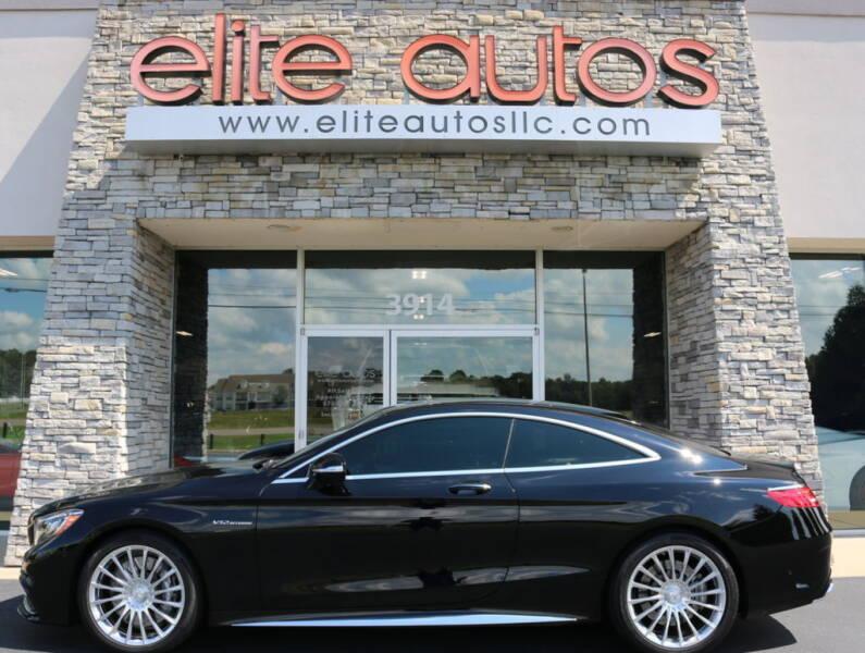 2016 Mercedes-Benz S-Class for sale at Elite Autos LLC in Jonesboro AR