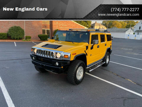 2004 HUMMER H2 for sale at New England Cars in Attleboro MA