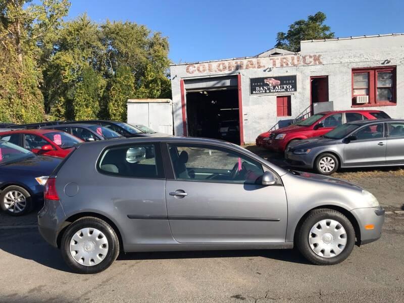 2009 Volkswagen Rabbit for sale at Dan's Auto Sales and Repair LLC in East Hartford CT