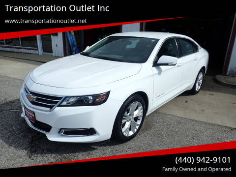 2015 Chevrolet Impala for sale at Transportation Outlet Inc in Eastlake OH