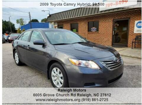 2009 Toyota Camry Hybrid for sale at Raleigh Motors in Raleigh NC