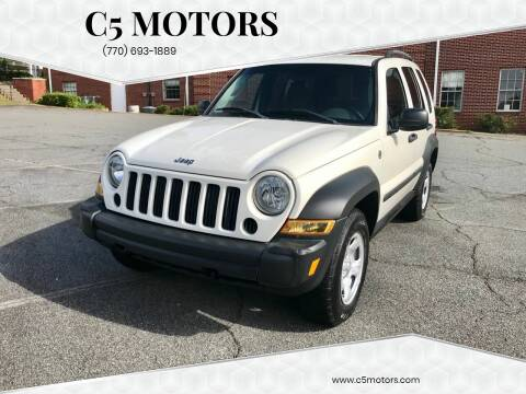 2006 Jeep Liberty for sale at C5 Motors in Marietta GA
