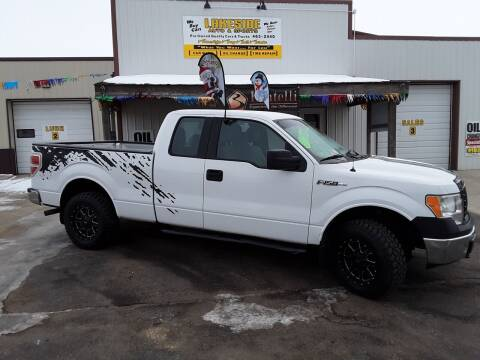 2012 Ford F-150 for sale at Lakeside Auto & Sports in Garrison ND