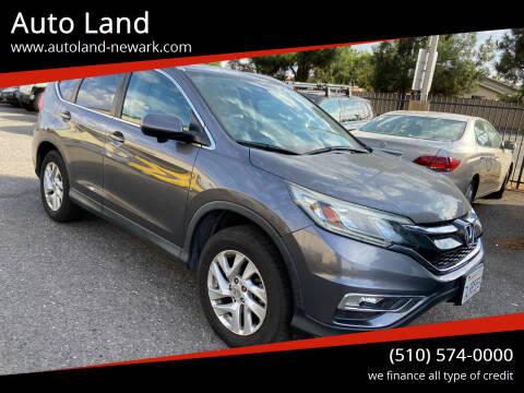 2015 Honda CR-V for sale at Auto Land in Newark CA