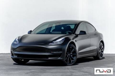 2019 Tesla Model 3 for sale at Nuvo Trade in Newport Beach CA