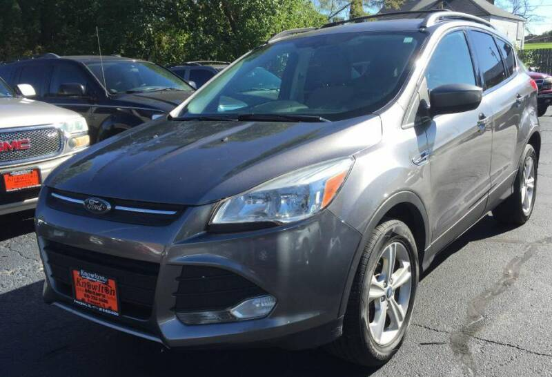 2013 Ford Escape for sale at Knowlton Motors, Inc. in Freeport IL