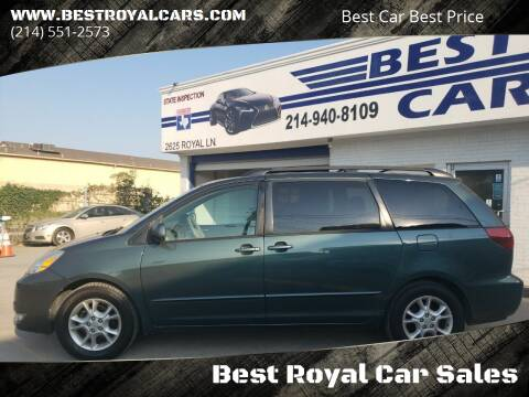 2005 Toyota Sienna for sale at Best Royal Car Sales in Dallas TX