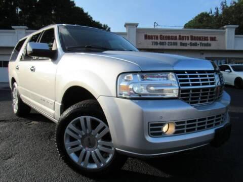 2011 Lincoln Navigator for sale at North Georgia Auto Brokers in Snellville GA