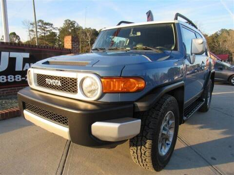 2011 Toyota FJ Cruiser for sale at J T Auto Group in Sanford NC