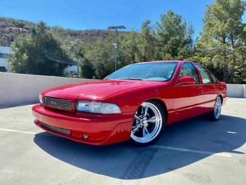 1996 Chevrolet Impala for sale at Allen Motors, Inc. in Thousand Oaks CA