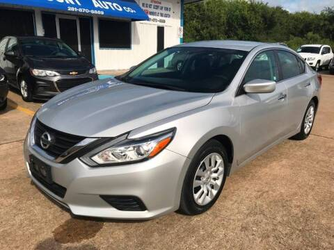 2016 Nissan Altima for sale at Discount Auto Company in Houston TX