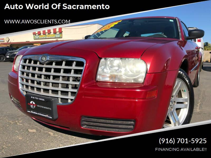 2008 Chrysler 300 for sale at Auto World of Sacramento Stockton Blvd in Sacramento CA