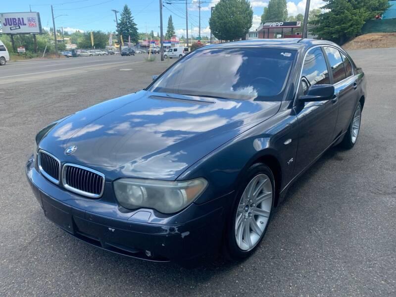 2002 BMW 7 Series for sale at South Tacoma Motors Inc in Tacoma WA