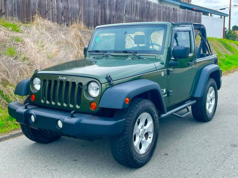 2007 Jeep Wrangler for sale at Elite Car Center in Spring Valley CA