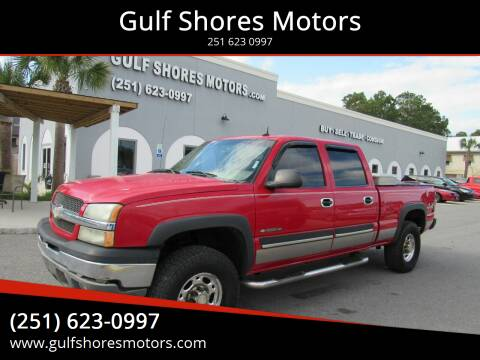 2003 Chevrolet Silverado 1500HD for sale at Gulf Shores Motors in Gulf Shores AL