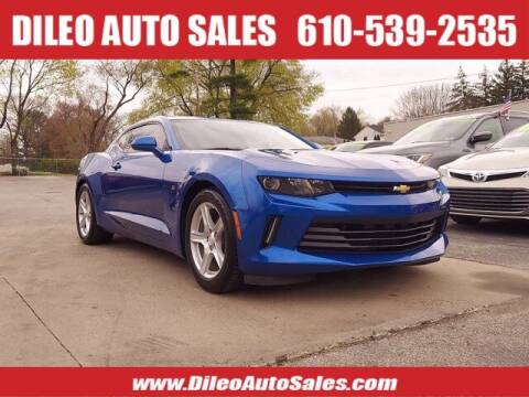 2017 Chevrolet Camaro for sale at Dileo Auto Sales in Norristown PA