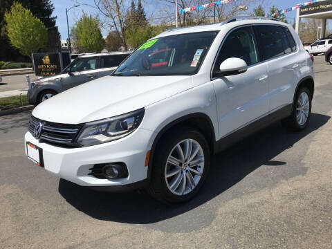 2016 Volkswagen Tiguan for sale at Autos Wholesale in Hayward CA