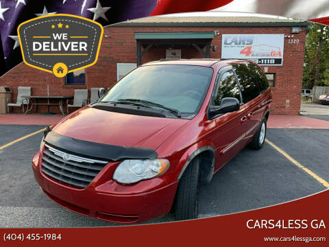 2005 Chrysler Town and Country for sale at Cars4Less GA in Alpharetta GA