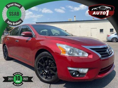 2015 Nissan Altima for sale at Street Smart Auto Brokers in Colorado Springs CO