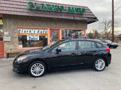 2013 Subaru Impreza for sale at Clarks Auto Sales in Salt Lake City UT