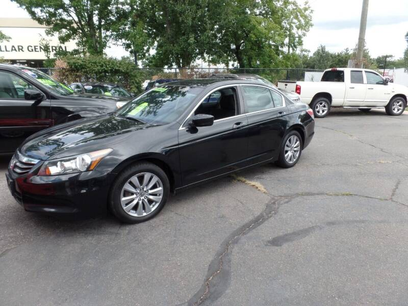 2012 Honda Accord for sale at CAR CORNER RETAIL SALES in Manchester CT