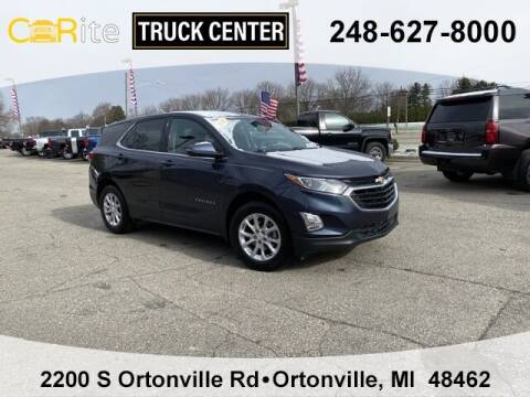 2018 Chevrolet Equinox for sale at Carite Truck Center in Ortonville MI