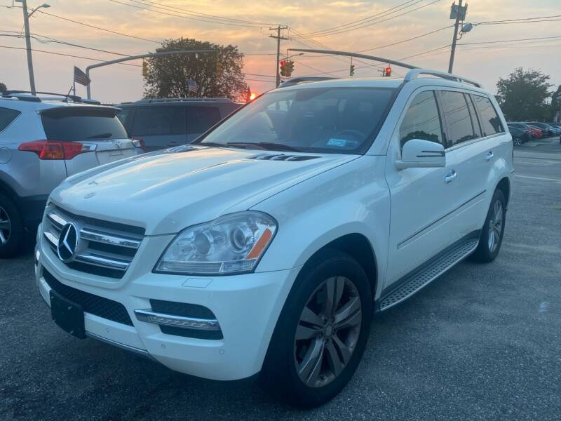 2012 Mercedes-Benz GL-Class for sale at American Best Auto Sales in Uniondale NY