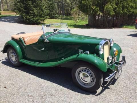 1952 MG TD for sale at Essex Motorsport, LLC in Essex Junction VT