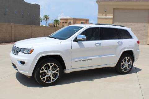 2021 Jeep Grand Cherokee for sale at CLASSIC SPORTS & TRUCKS in Peoria AZ