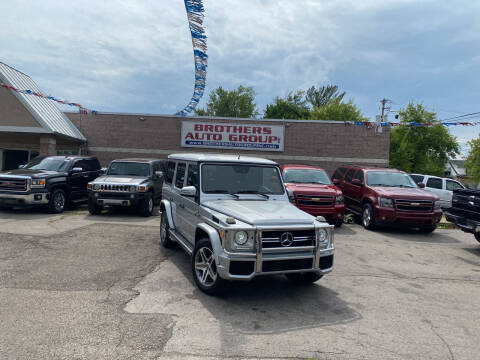 2002 Mercedes-Benz G-Class for sale at Brothers Auto Group in Youngstown OH