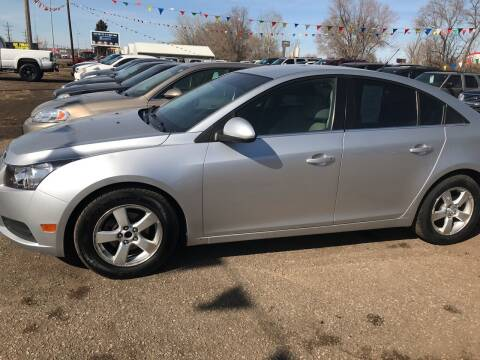 2012 Chevrolet Cruze for sale at BARNES AUTO SALES in Mandan ND
